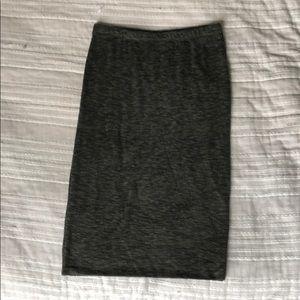 Casual pencil skirt